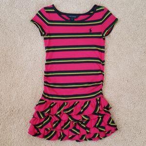Ralph Lauren girl short sleeve dress